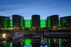 Duisburg Innenhafen (tankredschmitt) Tags: blauestunde duisburg flickr hafen ruhrgebiet stimmungen wordpress