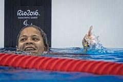 Rio 2016 - fase classificatria 50m livres S5 (Comit Paralmpico Brasileiro) Tags: rio2016 joana paralimpiada silva natacao 120916 cpb