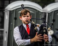 Bearded Piper (FotoFling Scotland) Tags: argyll bagpipes dunoon event highlandgames piper scotland beard cowalgathering scottish