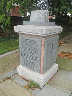 Patrick Byrne Monument