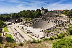 Lyon Ancient Theatre of Fourvire (Roman ruins) (Context Travel) Tags: lyon shutterstock restoffrance
