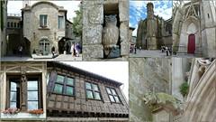 Carcassonne (brigeham34) Tags: voyage visite citdecarcassonne architecturemdivale basiliquestnazaire faadecolombages fleursdelys gargouille chouette fentremeneaux touristes carcassonne aude languedocroussillonmidipyrnes france fz45 eu