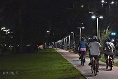 Santos City by night (Maria Luiza S) Tags: night noite light santos byke bicicleta ciclistas citylife cidade street rua