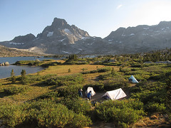 Thousand Island Lake Camp (Mike Dole) Tags: johnmuirtrail california sierranevada anseladamswilderness inyonationalforest