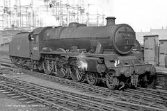 c.02/1963 - St Pancras, London. (53A Models) Tags: britishrailways stanier lms jubilee 6p5f 460 45675 hardy steam stpancras london train railway locomotive railroad