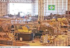 Modernização da aeronave A-1 (1°/16° GAV - Esquadrão Adelphi) Tags: a1 amxa1 embraer fotosilvalopes gaviãopeixoto modernização brasilia df brazil