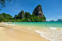 DSC_8062 (seanatron123) Tags: krabi thailand beach sand ocean nikond5100 karst waves railaybeach asia