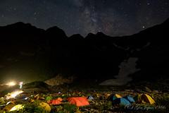 (GenJapan1986) Tags: 2016          night nagano japan travel fujifilmx70 mountain milkyway landscape