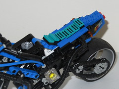 LEGO 8417 - 2016 Upgrade (RS 1990) Tags: lego technic 1998 motorbike magwheelmaster 8417 mod upgrade 2016