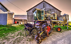(Light Paintings by Dez) Tags: guelph rural ontario outdoor canada summer tractor design dez hdr nikkor nikon nikond610 nikkor1424mm