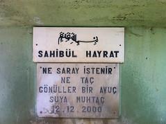 fountain writing (zeynepyil) Tags: pky edirne trakya sahiblhayrat eme hayrat fountain