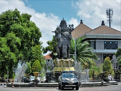Patung Catur Muka (SqueakyMarmot) Tags: travel asia indonesia bali 2016 denpasar patungcaturmuka trafficcircle statue