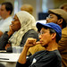 2012 NC Campuses Against Hunger conference attendees listen during a workshop presentation.