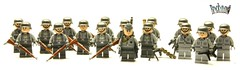 BRiCKiZiMO's German Army ([Stijn Oom]) Tags: army toys lego awesome bricks german legos ww2 printed germans kars mg42 mp40 mg43 stahlhelms brickizimo