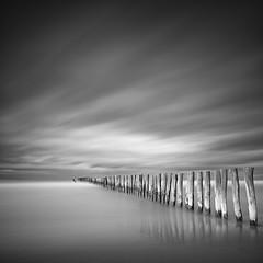 W E S T E R L Y (Weeman76) Tags: longexposure sea seascape france coast nikon le posts seadefence paulwheeler afszoomnikkor2470mmf28ged d800e