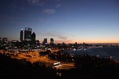 A city awakening...