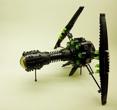 I-Bat (A) (SuperHardcoreDave) Tags: fighter lego tech space alien vessel future scifi spaceship weapons moc starfighter spacefighter