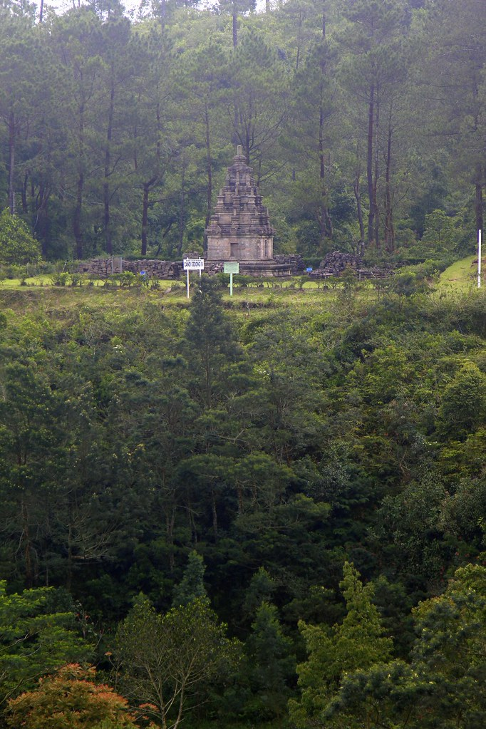 Distant Candi Gedong Songo, Bandungan and Kopeng, Central Java, Indonesia