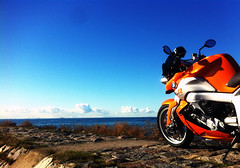 Orange (Peter Hillhagen) Tags: orange bmw k1200r fotosondag fs121014