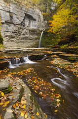 Fall At Havana Glen (Matt Champlin) Tags: autumn fall water canon fun outdoors waterfall colorful quiet peace hiking tranquility calm glen adventure foliage upstatenewyork gorge fingerlakes tranquil 2012 watkinsglen autumnscene havanaglen eagleclifffalls autumnwaterfall autumninupstatenewyork autumnfingerlakes