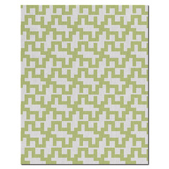 Maze Wool Rug in  Lime and Natural (PURE Inspired Design) Tags: customfurniture organicfabric ecofriendlyfurniture woolrugs