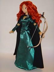Talking Merida Doll - First Look - Deboxed - Full Right Front View (drj1828) Tags: us doll princess release disney merida pixar brave talking purchase disneystore deboxed