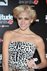 Pixie Lott Attitude Magazine Awards held at One Mayfair - Arrivals. London, England