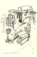 Volkswagen (lolo wagner) Tags: france car sketch voiture dessin strasbourg workshop oldtimer coccinelle atelier croquis volswagen coachbuilder carrossier