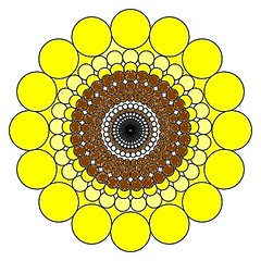 Sunflower (gurdonark) Tags: sun flower color yellow mandala sunflower
