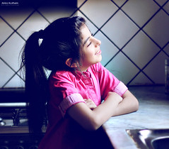 *  ,    ....              (Amira ALothaim . .) Tags: portrait sun cute girl beautiful smile kids canon fun photography kid model flickr child image picture photograph amira 550            alothaim
