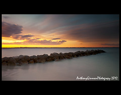 The Idea Of North (AnthonyGinmanPhotography) Tags: sunset seascape motion clouds movement silverbeach kurnell neutraldensity nd110 bwnd110