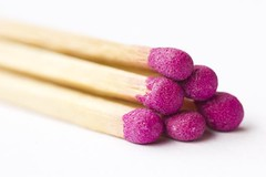 "Week 42-2012: ""Matches"" [Explored] (Katharina Giesler) Tags: pink macro fire fuego matches makro feuer cerillas streichhlzer"