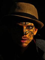 Cat Man (Tim Schreier) Tags: nyc newyorkcity eastvillage halloween les manhattan lowereastside ev alicesadventuresinwonderland newyorkny aliceinwonderland tompkinssquarepark cslewis madhatterteaparty 102012
