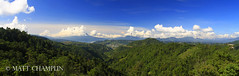 Guatemala Pano (Matt Champlin) Tags: life travel blue lake mountains green nature beautiful clouds landscape outdoors rainforest quiet peace guatemala pano panoramic adventure antigua exotic volcanoes lush tranquil lakeatitlan guatemalan guatemalanhighlands guatemalanvolcanoes
