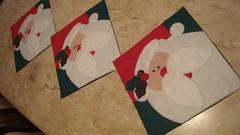 trilho de mesa (FLOR DE ALGODO por ANDRESSA RIVABEM SCHMIDT) Tags: natal centro noel feltro patchwork mesa trilho