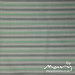 Vintage pillowcase - green/grey stripe