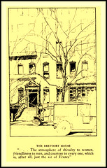 1917 -  Brevoort House   Greenwich Village, by Anna Alice Chapin with illustrations by Allan Gilbert Cram. (carlylehold) Tags: new york city nyc ny mobile square allan washington arch village g greenwich email smartphone gilbert contact tmobile sponsor tmobil cram signup haefner carlylehold solavei haefnerwirelessgmailcom