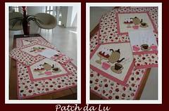 Kit Cupcake (Patch da Lu) Tags: cupcake trilho trilhodemesa toalhadefogo panodepratocupcake