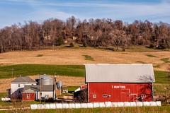T Bunting Farm (Thomas DeHoff) Tags: fall rural sony a700 iowafarmstead