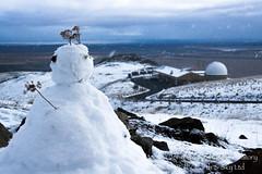 Silent Observer (Earth & Sky NZ) Tags: newzealand snow clouds snowman observatory mackenzie dome nz astronomy usaf ida 2012 tekapo stargazing aoraki 1metre mtjohn earthandsky 22october mtjohnobservatory 1meter mackenziebasin october22nd internationaldarkskyassociation mtjohnuniversityobservatory darkskyreserve starlightreserve satellitetrackingfacility 1metrebuilding aorakimackenzieinternationaldarkskyreserve bakernunn dallaspoll