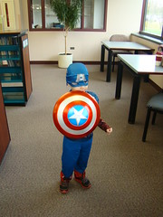 Halloween Parade 2012 (Palatine Public Library District) Tags: family costumes halloween kids children community library pirates dragons moms captainamerica storytime thing1 thing2 palatine palatinelibrary