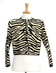 L26. Chic Zebra Print Jacket, Bill Blass