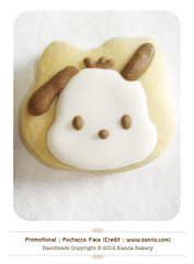pochacco (Kanda Bakery) Tags: cookie cartoon biscuit pochacco kandabakery