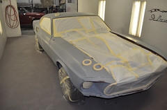 "S code 1969 Mustang Mach 1 390 4 speed Fastback Restoration Ready For Paint • <a style=""font-size:0.8em;"" href=""http://www.flickr.com/photos/85572005@N00/8150741141/"" target=""_blank"">View on Flickr</a>"