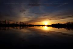 Bye bye 2012 (Le***Refs *PHOTOGRAPHIE*) Tags: winter sunset sky sun reflection clouds sunrise soleil canal nikon rhne ciel nuages reflets coucherdesoleil happynewyear stgilles d90 lerefs bye2012