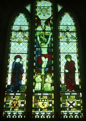 East Window, Much Marcle (Aidan McRae Thomson) Tags: church window victorian stainedglass herefordshire crucifixion kempe muchmarcle