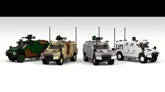 LWC Variations (Quogg) Tags: truck lego jeep military ldd multirole