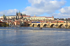 Sunny January's Sunday in Prague