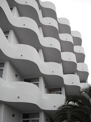 I'm getting seasick ..... (Shirley Pickthorne-Elliott) Tags: architecture hotel dor mallorca cala