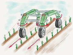 FRANC - Field Robot for Advanced Navigation in bio Crops